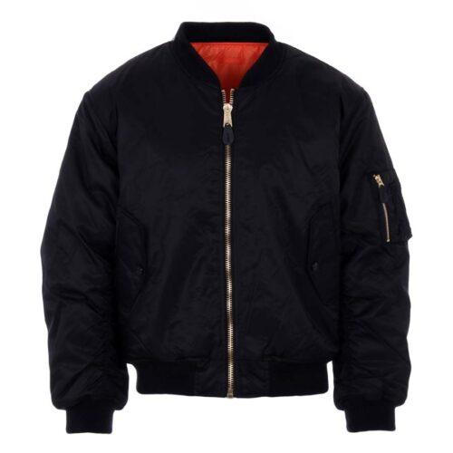 Sort-pilot-jakke