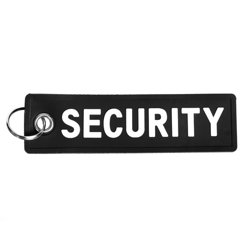 Security-nøglering-pvc