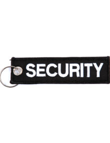 Security-nøglering-nylon