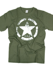 T-SHIRT VINTAGE US ARMY STAR