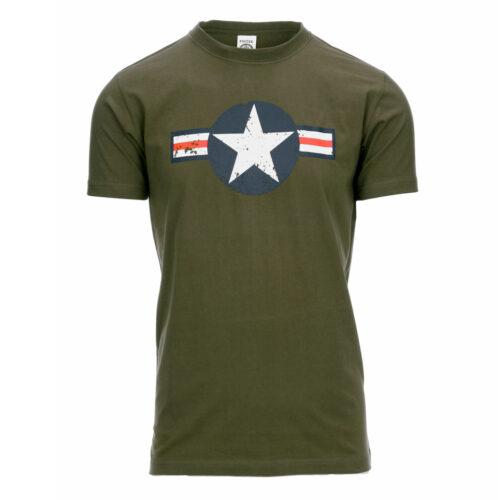 T-SHIRT WW II grøn