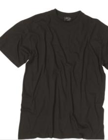Vagt-t-shirt-sort